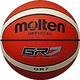 Molten BGR7, Pelota para Entrenamiento de Baloncesto, Naranja, Talla 7
