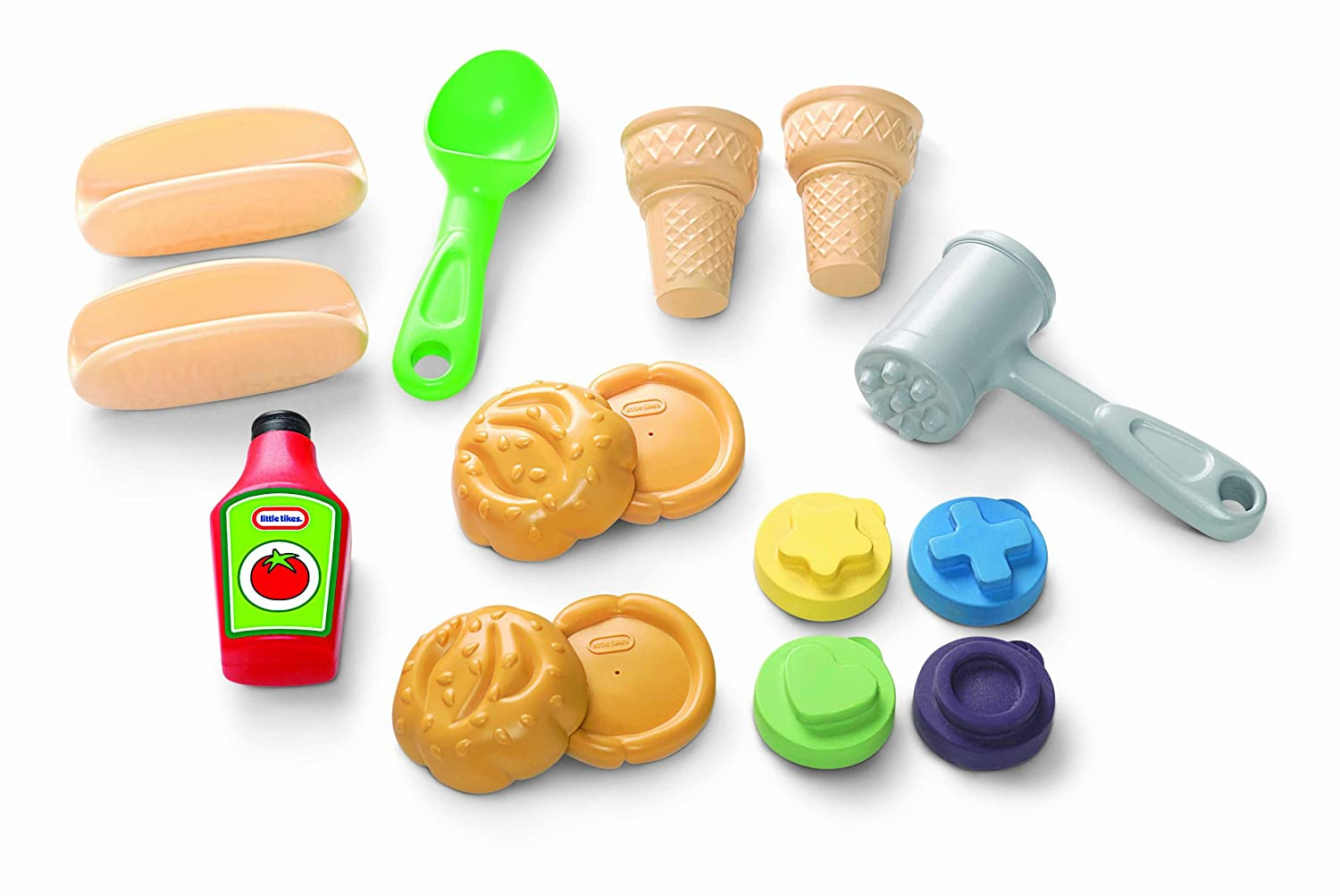 amazon com little tikes makin u0027 mudpies smash u0027n mash picnic toys