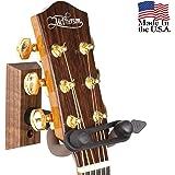 String Swing ギターウォールマウントブラケットホルダー ギターハンガー CC01KS - Black Walnut