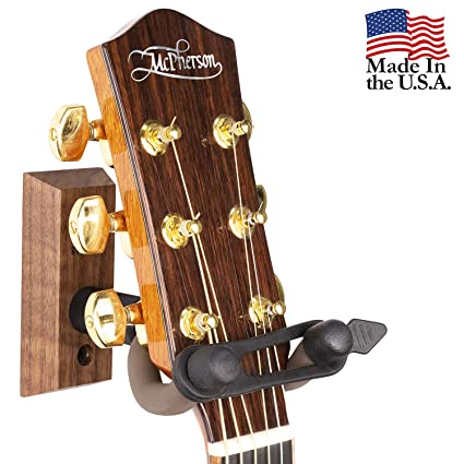 Amazon Com String Swing Guitar Wall Mount Hanger With Keeper Strap