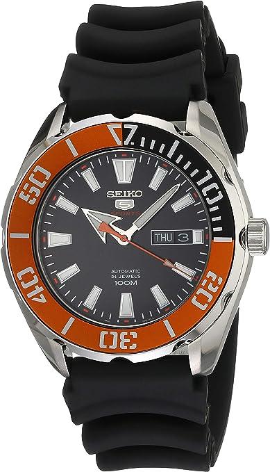 Reloj Seiko Seiko 5 Sports para Hombres 45mm: Amazon.com.mx: Relojes