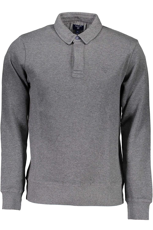 09321a4a1 Gant Men s Sacker Rib Two-Button Sweater Jumper  Amazon.co.uk  Clothing