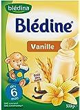 Blédina Blédine Saveur Vanille à Partir de 6 Mois 500 g - Lot de 6