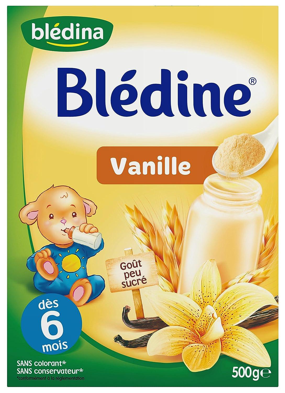 Blédina Blédine Saveur Vanille dès 6 mois 500 g - Lot de 6