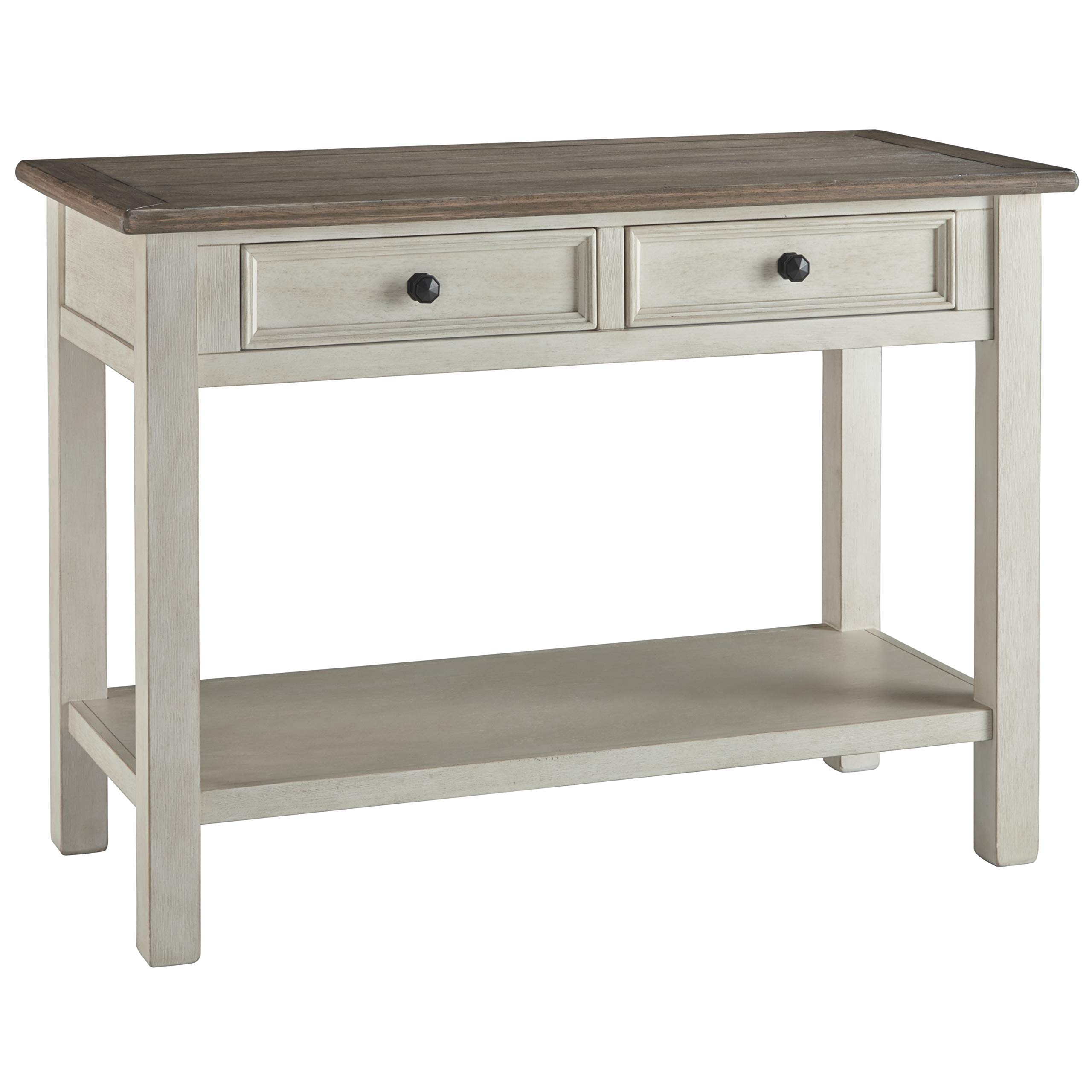 Ashley Furniture Signature Design - Bolanburg Sofaside Table Two-Tone by Signature Design by Ashley