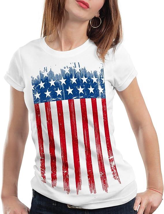 t shirt femme usa