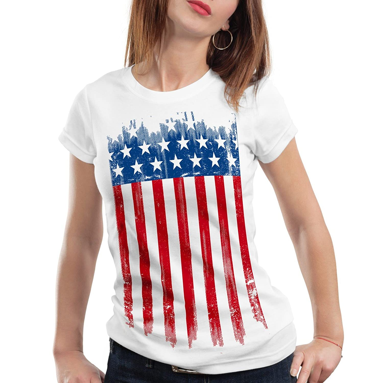 tee shirt femme usa
