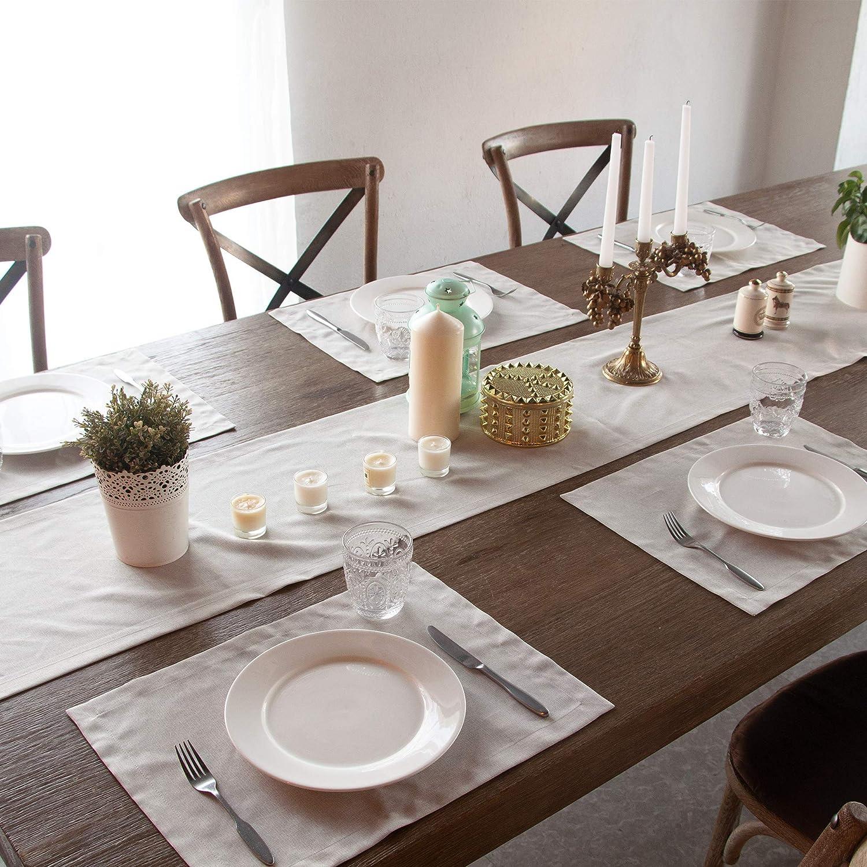 6 PlaceMats /& 1 Runner-Reversible mat runner-golden wedding mats-floral place mats-table decor-table linens-dining decor-wedding decoration-