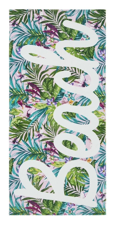 Catherine Lansfield Tropical - Toalla de Playa (Algodón, 160 x 76 x 0,4 cm), Multicolor: Amazon.es: Hogar