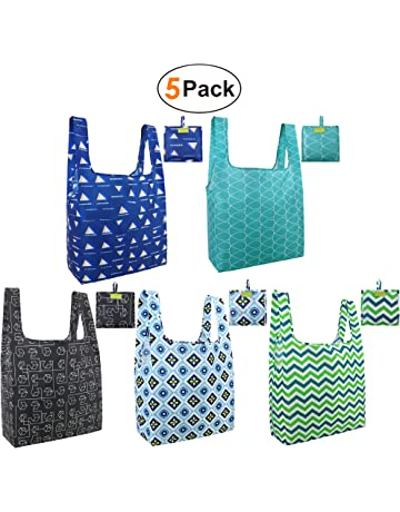 Foldable Reusable Grocery Bags Cute Designs b2ae1d4fff260
