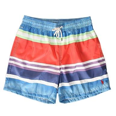 Polo Ralph Lauren - Bañador - para Hombre Watercolor Stripe (001 ...