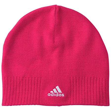 buy online 34265 4f67d ... new arrivals adidas essential corp beanie caps pink blast pink white  one size fb407 86acb