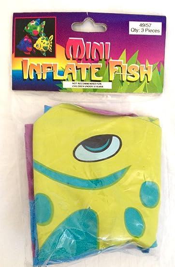 Amazon.com: Mini inflable pez payaso: Toys & Games