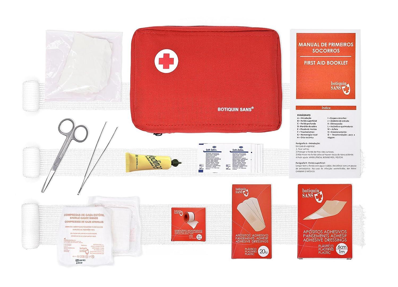 Kit Primeiros Socorros para a empresa (segundo a informaçao técnica de 2/2010 - Saúde OcupacionaL: Amazon.es: Salud y cuidado personal