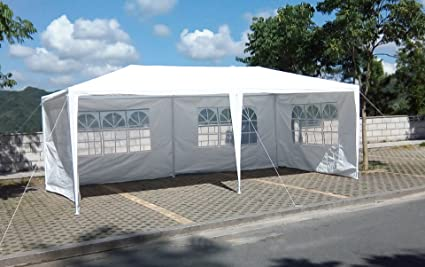 Hynawin Canopy Tent 20 x 10' Outdoor Gazebo Tent Waterproof Canopy for  Party Wedding, - Amazon.com: Hynawin Canopy Tent 20 X 10' Outdoor Gazebo Tent