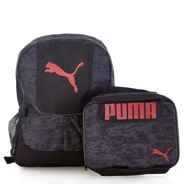 c791d51af9 Amazon.com  PUMA Boys Color Block Backpack   Lunch Bag Set  Clothing