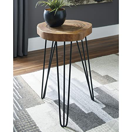 Signature Design by Ashley A4000080 Eversboro Accent Table Brown Black