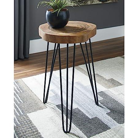 Signature Design by Ashley A4000080 Eversboro Accent Table Brown Black