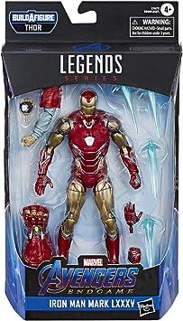Marvel Avengers PIEGA E FLEX 6-Inch flessibile Iron Man Action Figure