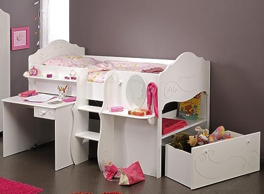 lit superpos original pour fille modele de bureau pour. Black Bedroom Furniture Sets. Home Design Ideas