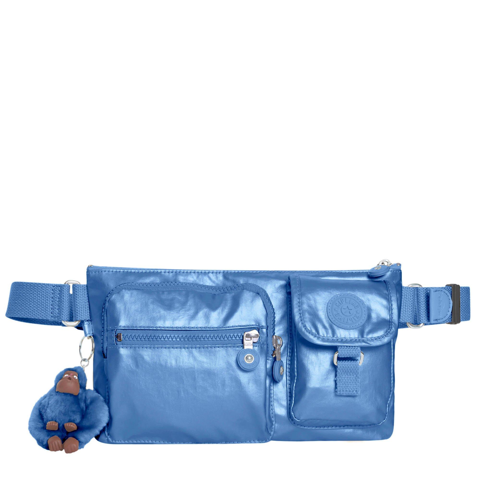 Kipling Women's Presto Metallic Convertible Waistpack, Mtlcsubdvb