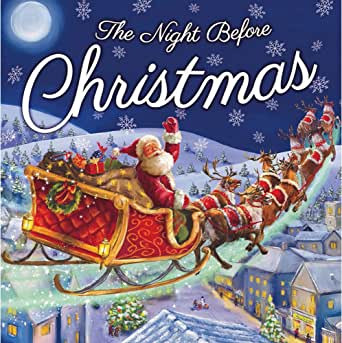 Livro de Natal Noite Antes do Natal: Amazon.com.br: Amazon