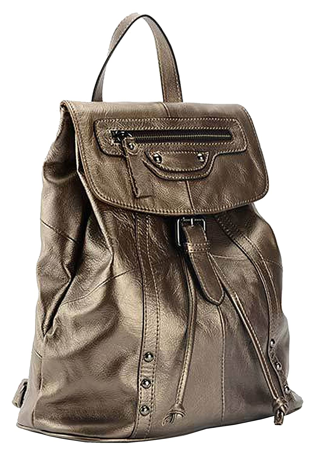 SAIERLONG MsBP Ladies Designer Womens Cowhide Genuine Leather Daily Casual Backpack