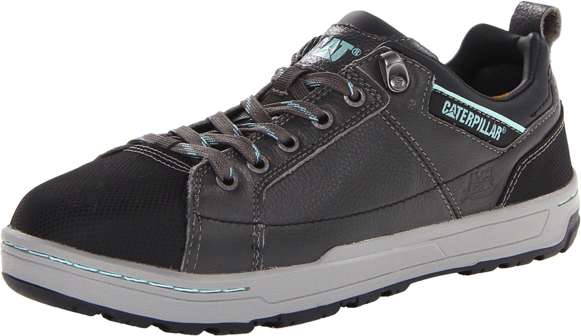 Caterpillar Women's Brode Steel Toe Work Shoe,Dark Grey,10 M US