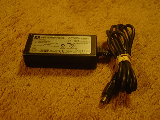 Power Payless Compatible with Compatible with JENTEC JTA0202Y 12V 5V 5pin AC//DC Power Adapter equiv
