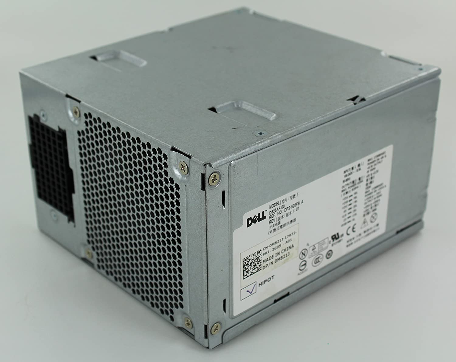 Dell Precision T3500 525W Desktop Power Supply D525AF-00 0M821J