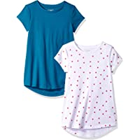 Amazon Essentials Girls' 2-Pack Tunic Niñas, Pack de 2