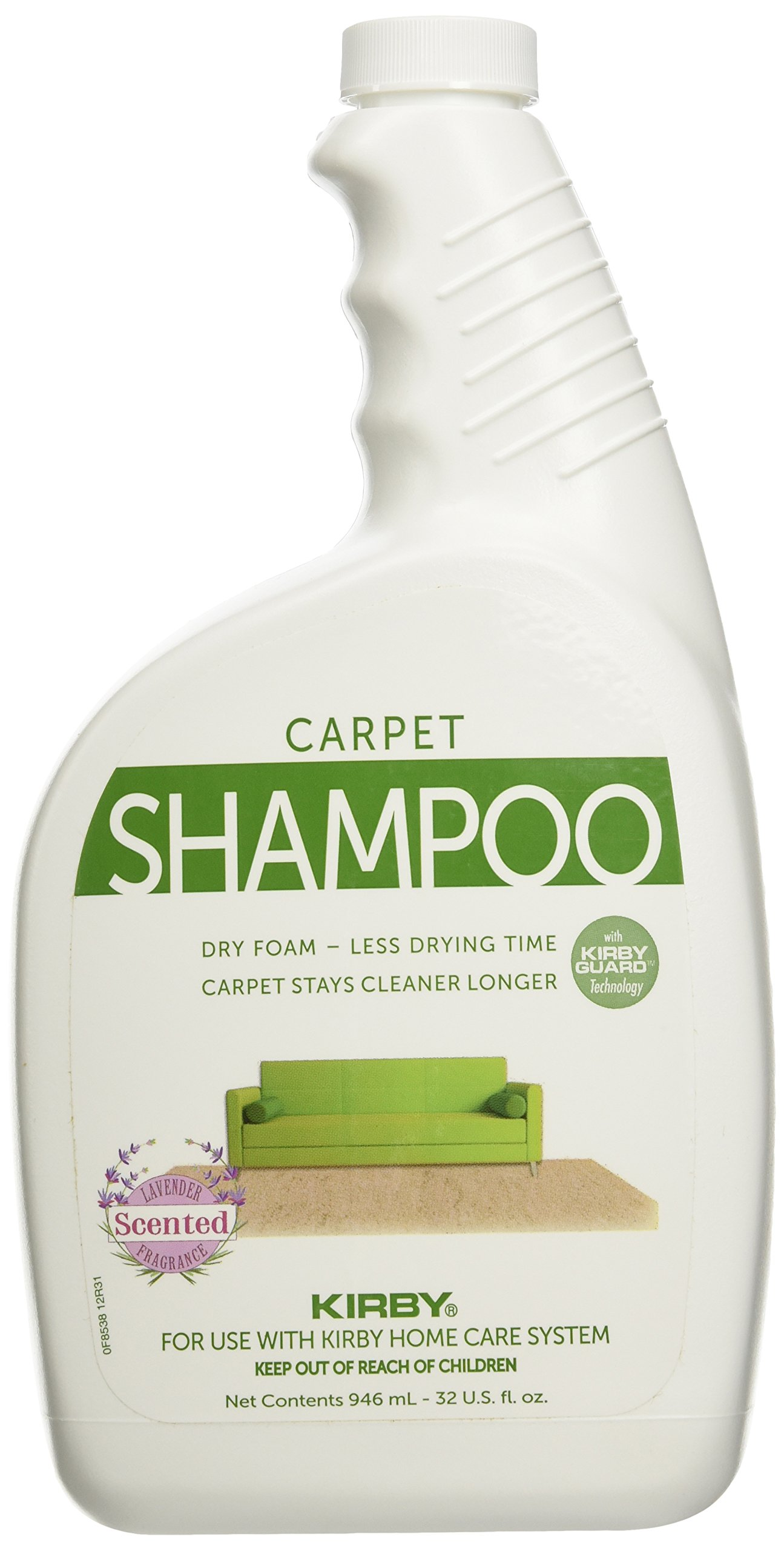 Kirby Vacuum Cleaner Quart Lavender Scented Carpet Rug Shampoo 32oz by Kirby