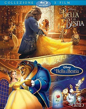 La Bella E La Bestia Live Actionanimazione 2 Blu Ray Amazonit