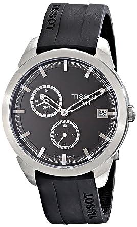 tissot titanium gmt