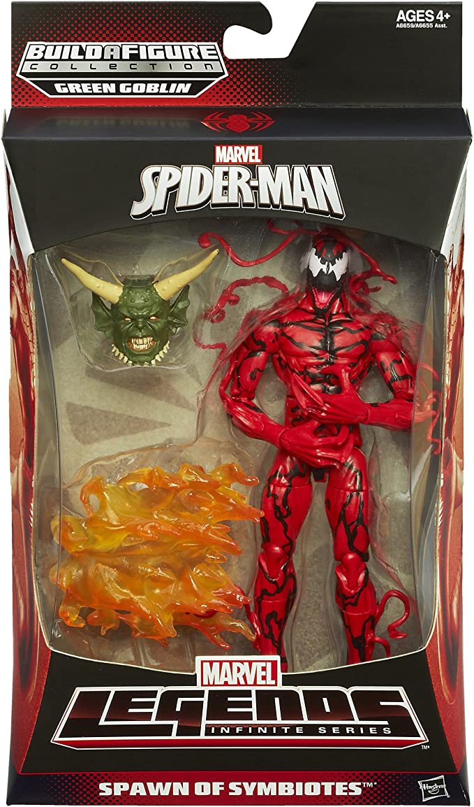 Marvel Spider-Man Collectables Figure Marvel Legends Spawn of Symbiotes
