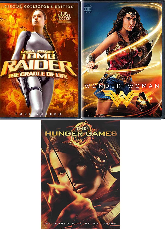 Amazon Com Game Maker Heroes Movie 3 Pack Dvd Dc Wonder
