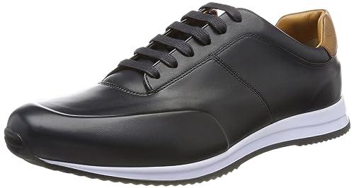 Boss Legacy_Runn_Burs, Zapatillas para Hombre, Azul (Dark Blue 401), 46 EU