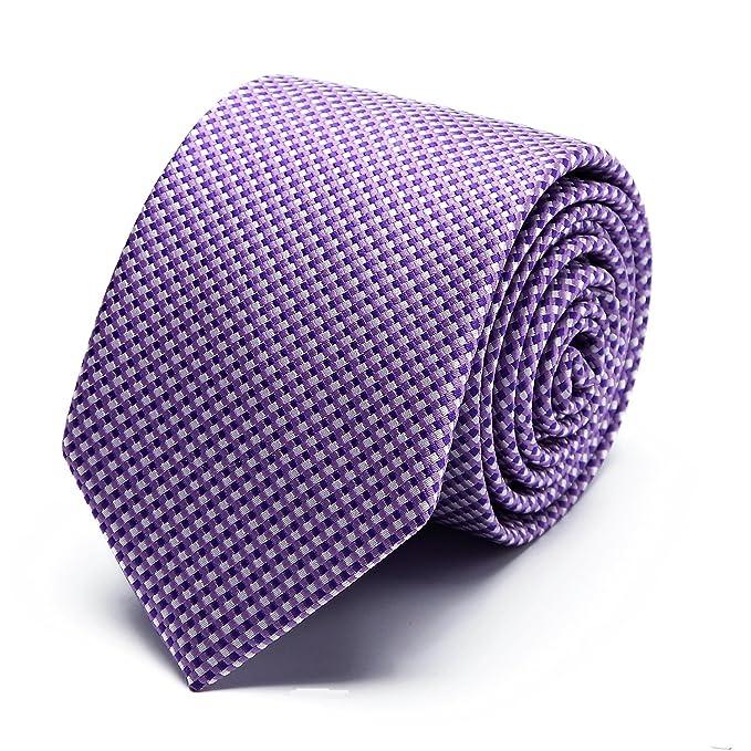 MUCO Corbata para Hombre Multicolores Moda Clasica