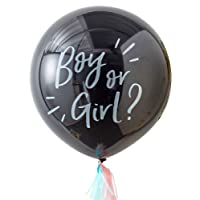 GIANT GENDER REVEAL BOY OR GIRL? BALLOON KIT - OH BABY!