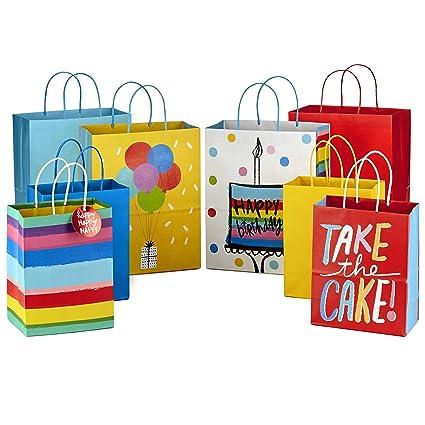 Amazon.com: Hallmark - Bolsas de regalo surtidas de 9 ...