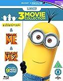 Minions Collection (Despicable Me/Despicable Me 2/Minions) [Blu-ray][Region-Free]