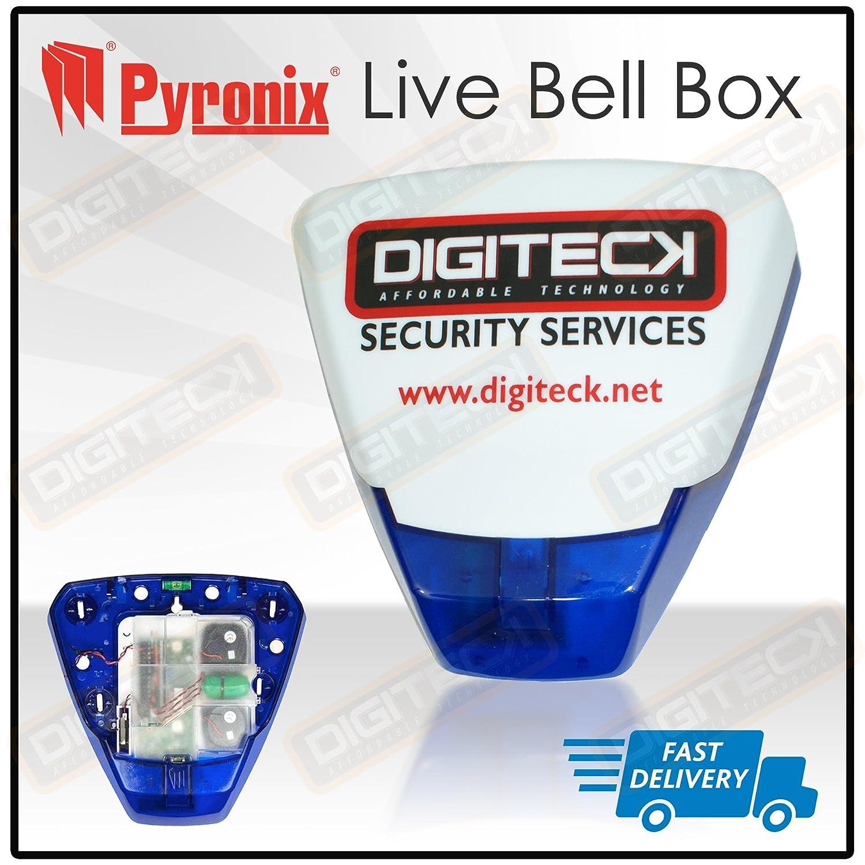 WA2 - campana en caja SCANTRONICS, alarma HONEYWELL con piezoeléctricos y estroboscópico: Amazon.es: Bricolaje y herramientas
