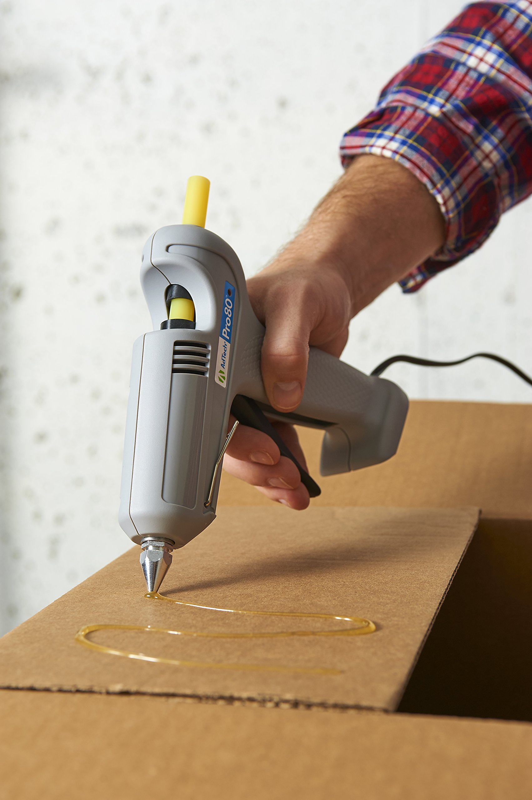 Adhesive Technologies 0114M AdTech Pro 80 Hot Glue Gun for Crafting and Home Improvement | 8X the Power | Bonus Nozzle Tips | Stands Up on Its Own | Item #0114 by Ad-Tech (Image #6)