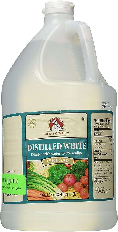 Amazon.com: Distilled White Vinegar   1 Jug, 1 Gallon: Industrial U0026  Scientific