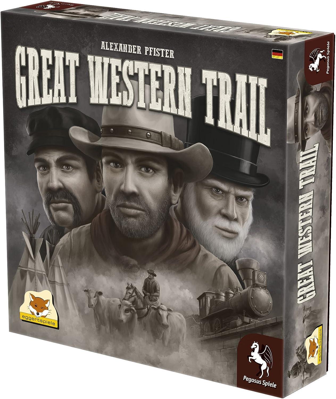 Pegasus Press PEG54590G Great Western Trail Board Game