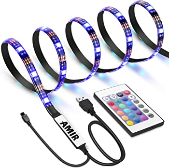 AMIR Changing Color TV LED Light Strip