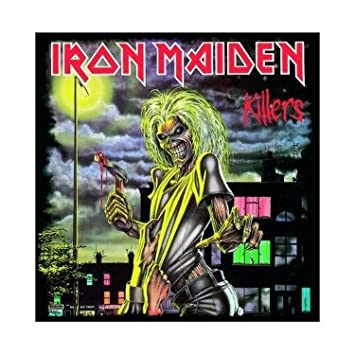 Iron Maiden Greeting Birthday Any Occasion Card Killers 100