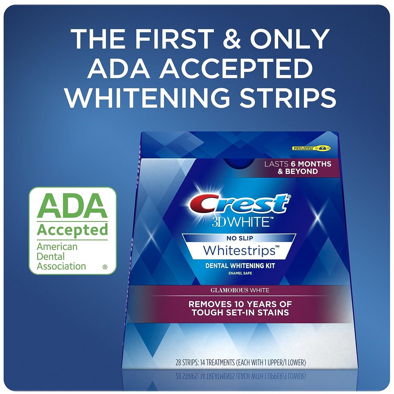 Amazon Com Crest 3d White Luxe Whitestrip Teeth Whitening Kit