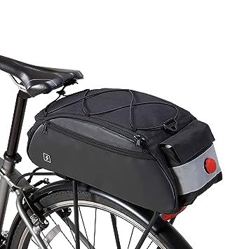 Amazon.com: Sahoo Bike Rack Bag Bicyle Painners Trunk Bag ...