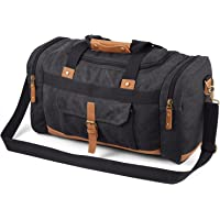 Plambag 50L Large Travel Canvas Duffle Bag